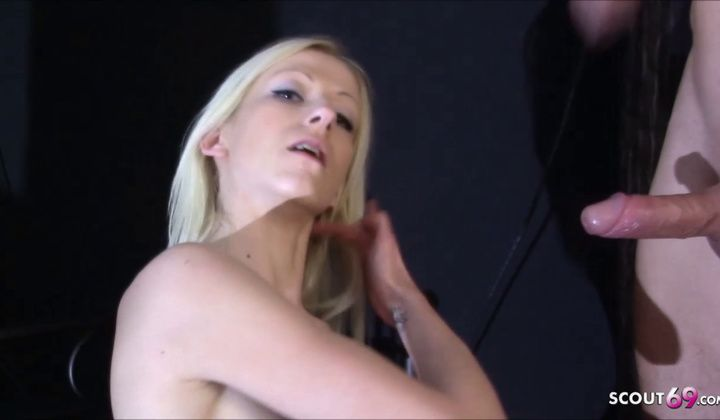 1080p - Skinny Anorexia German Teen Sabrina At Real Porn Casting